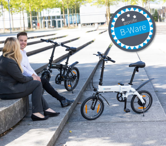 Falt-E-Bikes: Ausstellungsstücke und 2. Wahl