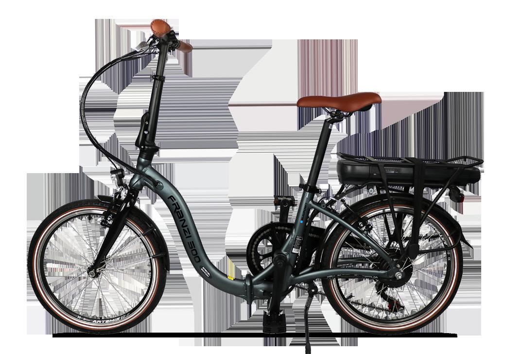 Faltbares E-Bike Franzi 500 SE von Blaupunkt